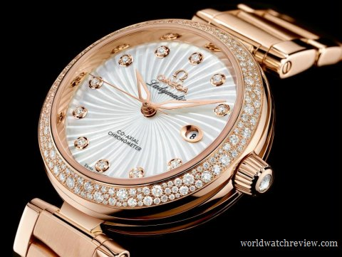 Omega Ladymatic DeVille ladies watch in rose gold