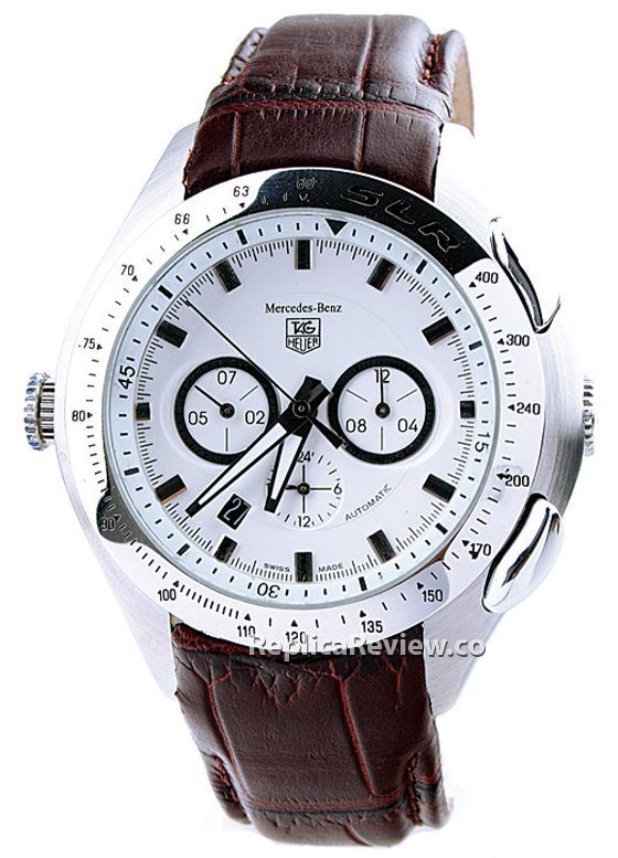 Tag heuer slr replica hot sale men 39 s replica watches for Mercedes benz watch for sale