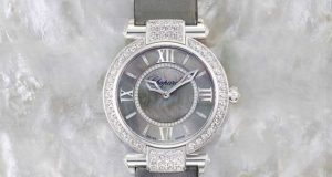 36mm Dazzling Diamonds Chopard Imperiale Joaillerie Mother-of-pearl Dial Ladies Watch