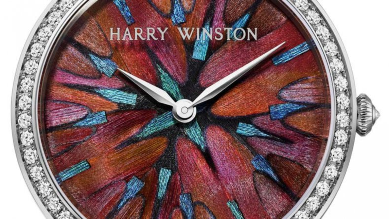 Reviewing The Cheap Price Ladies' Harry Winston Premier Feathers Quartz Replicas Ref.PRNQHM36WW008