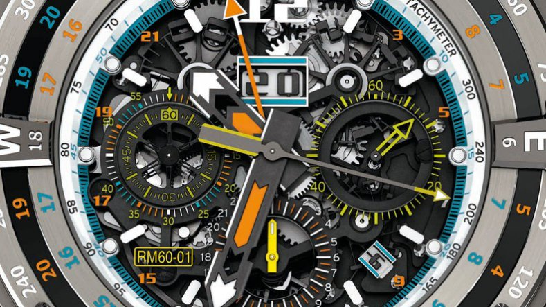 Best Replica Richard Mille RM 60-01 Regatta Flyback Chronograph Voiles de Saint Barth Watch