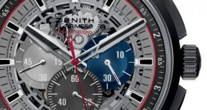 The Titanium Zenith El Primero chronograph Skeleton Copy Watch