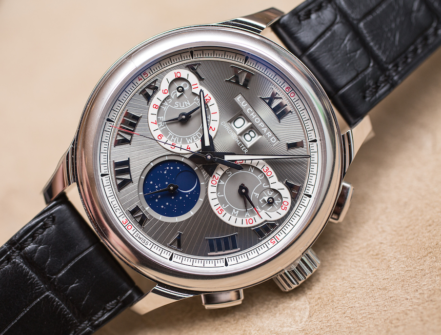 Introducing The Best Quality Chopard LUC Perpetual Twin Steel Copy Watch