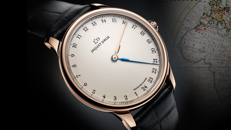 Jaquet Droz Grande Heure GMT Replica Watch
