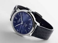 Glashütte Original Senator Sixties Panorama Date Blue Dial Copy Watch