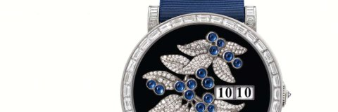 Delaneau Amazone Blueberries 1608 watch