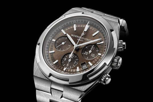 Brown Dial Vacheron Constantin Overseas Chronograph watch replica