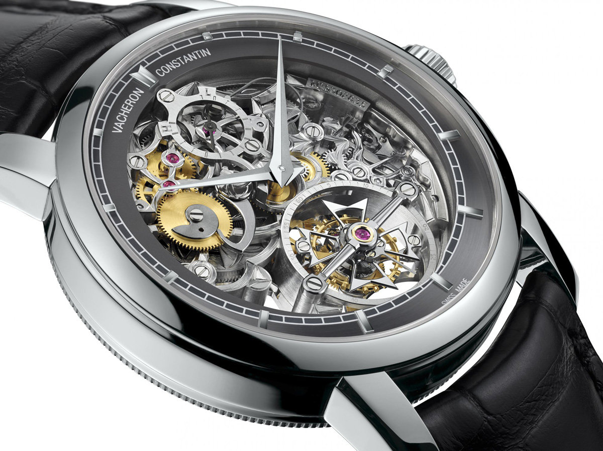 Vacheron Constantin Patrimony Traditionnelle 14-Day Tourbillon Openworked replica