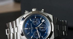 steel Vacheron Constantin Overseas Chronograph watch replica