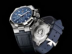 Deep Blue Dial Vacheron Constantin Overseas Chronograph replica watch