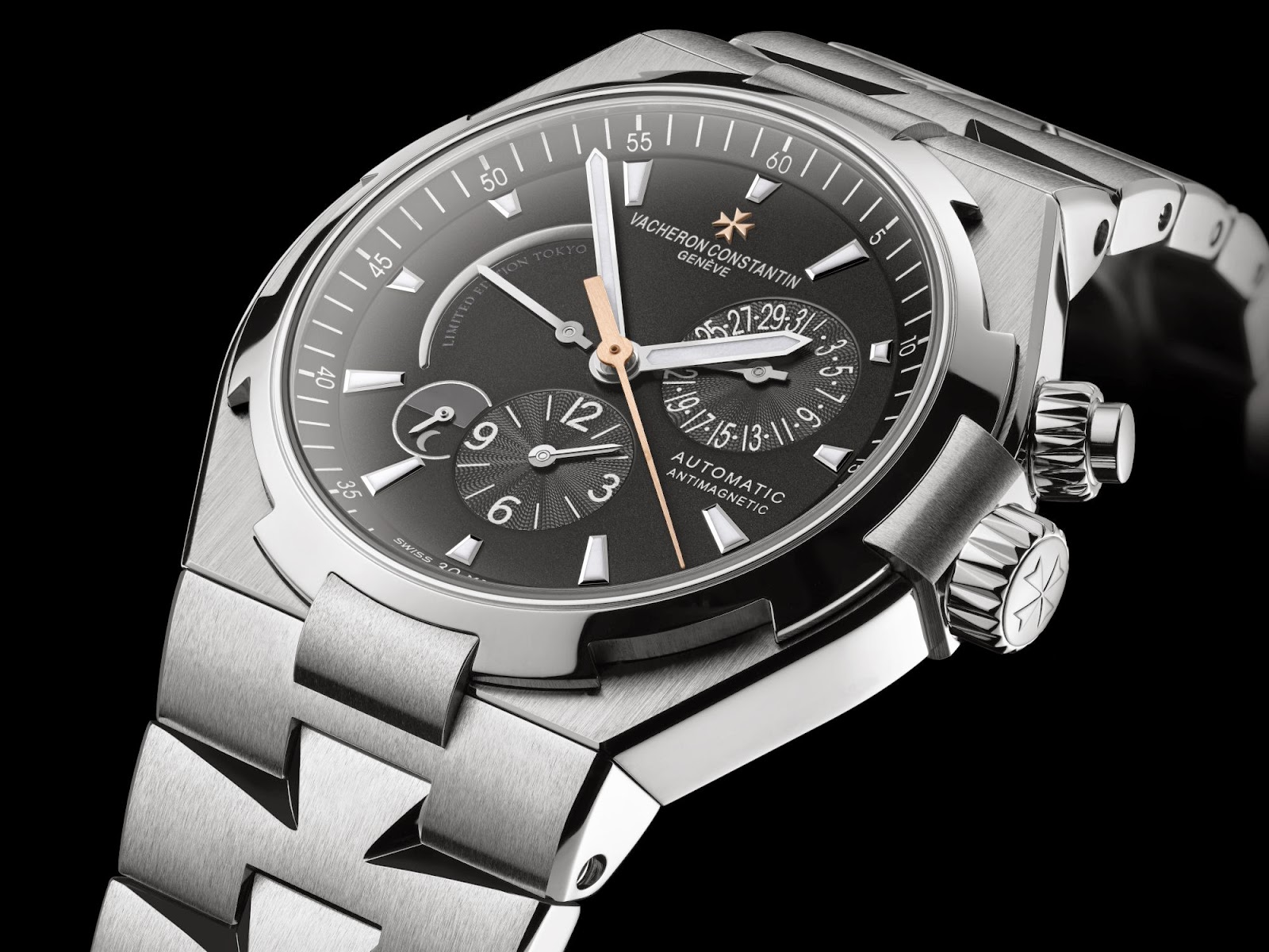 Vacheron Constantin Overseas Dual Time Replica watch