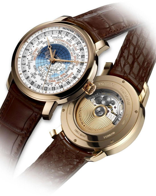 Vacheron Constantin Patrimony Traditionnelle World Time replica watch