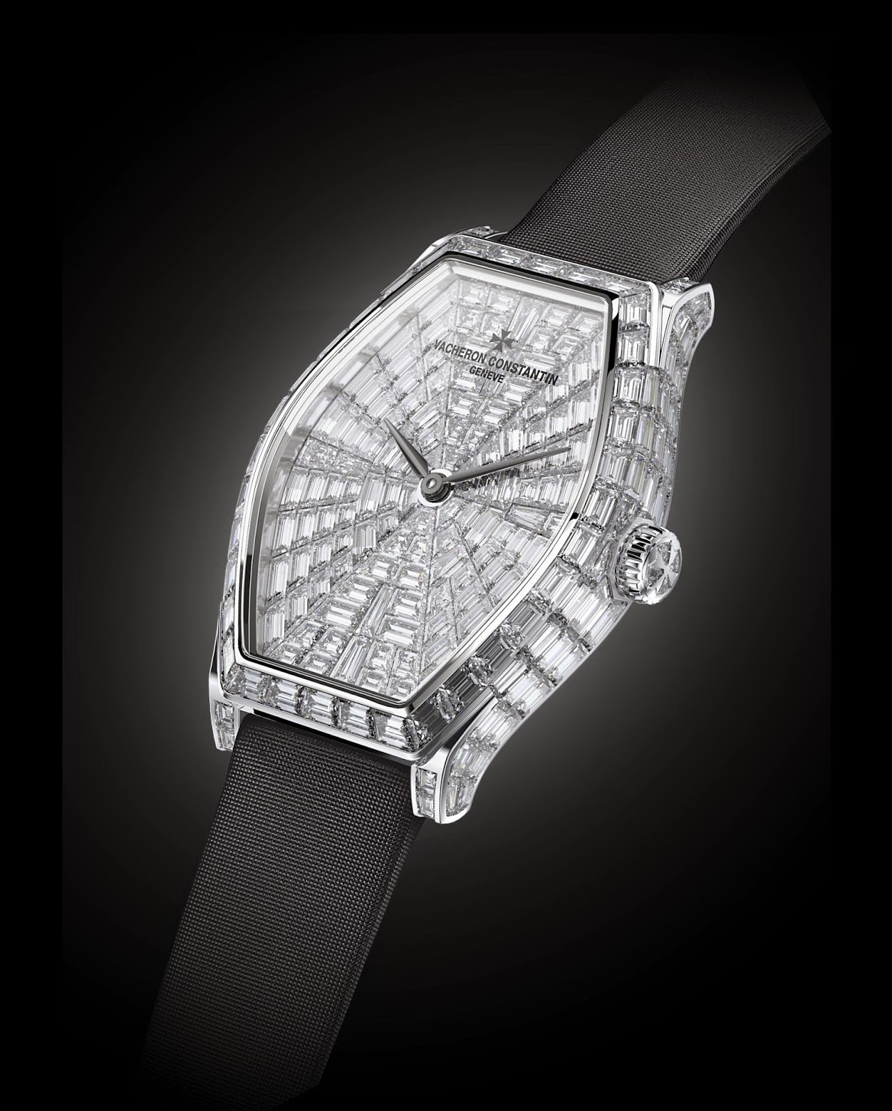 High Jewellery Vacheron Constantin Malte Diamonds watch replica