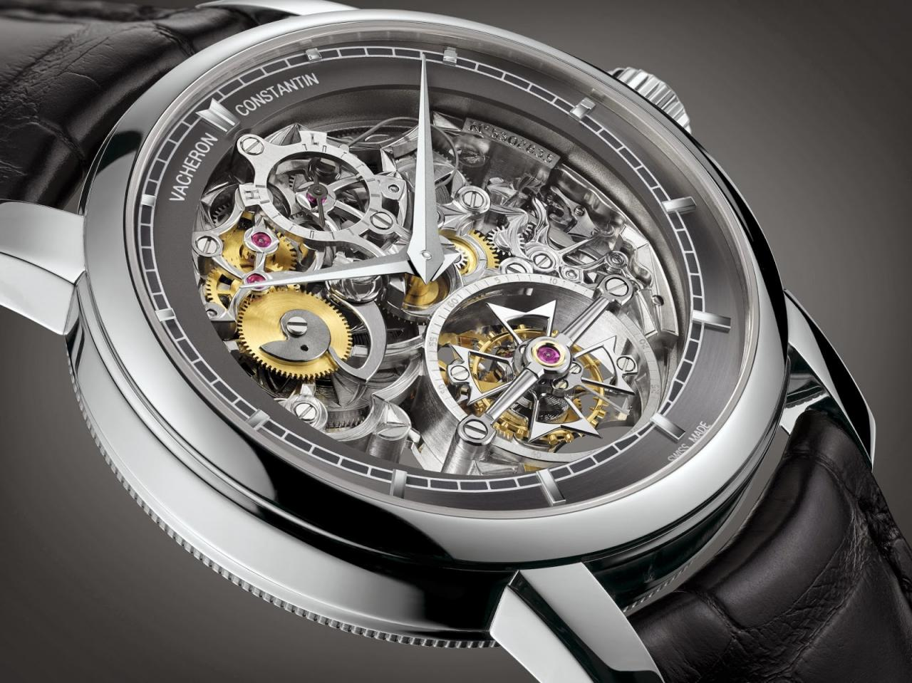Vacheron Constantin Patrimony Traditionnelle 14-day tourbillon replica