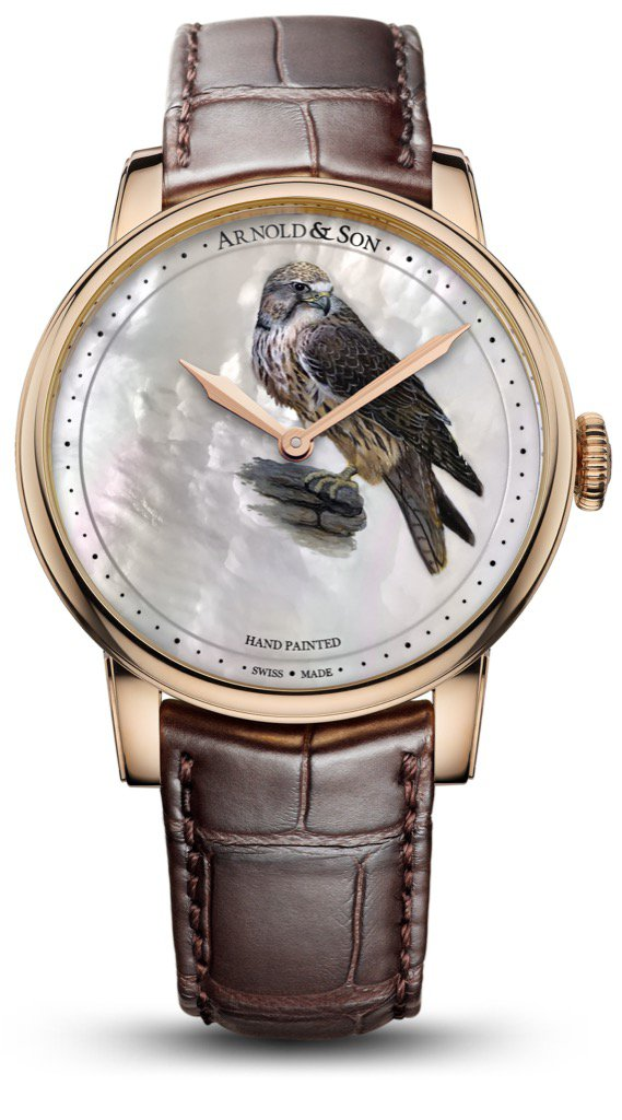Arnold & Son Métiers d'Art HM Falcon replica watch