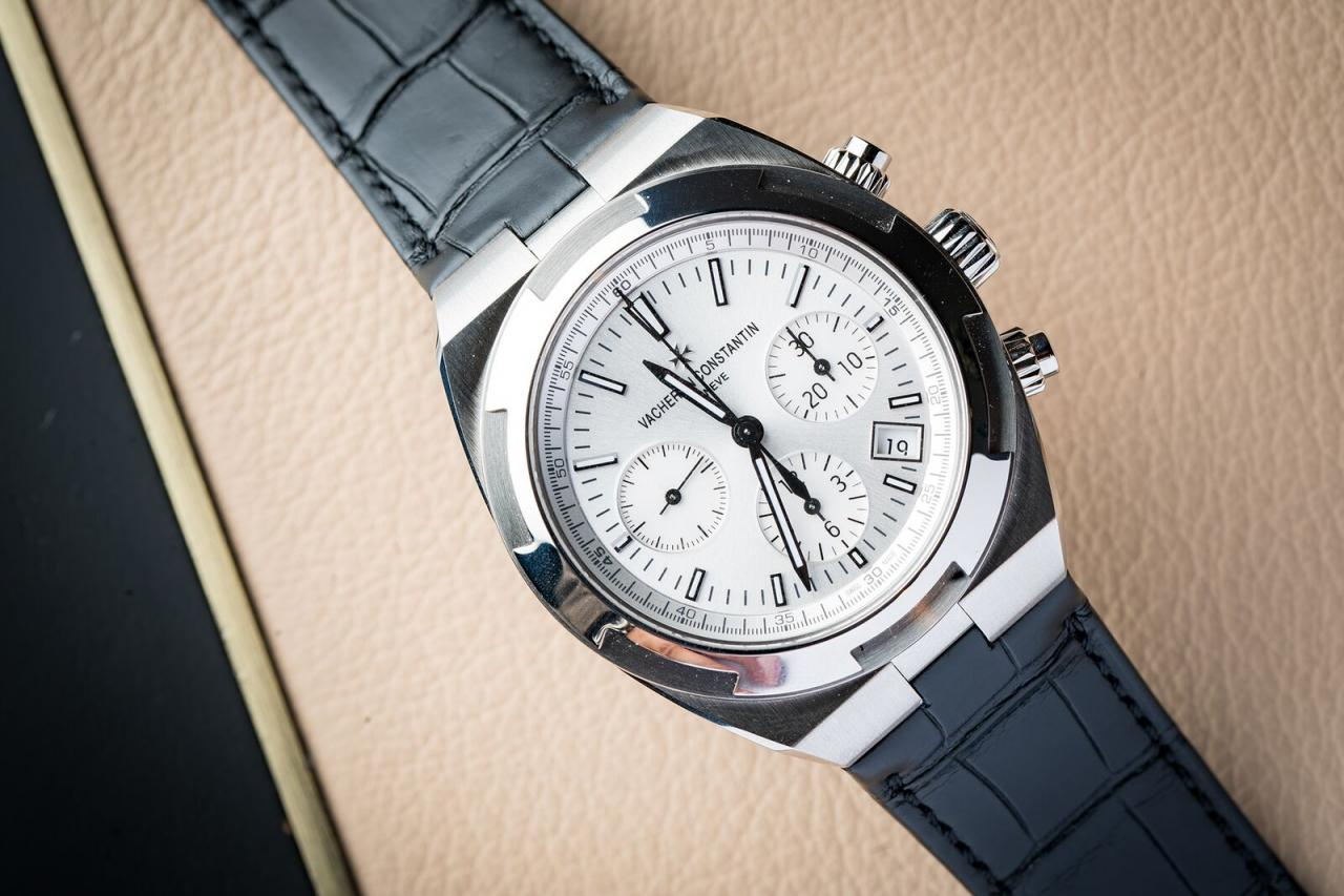 Vacheron Constantin Overseas Chronograph stop watch replica