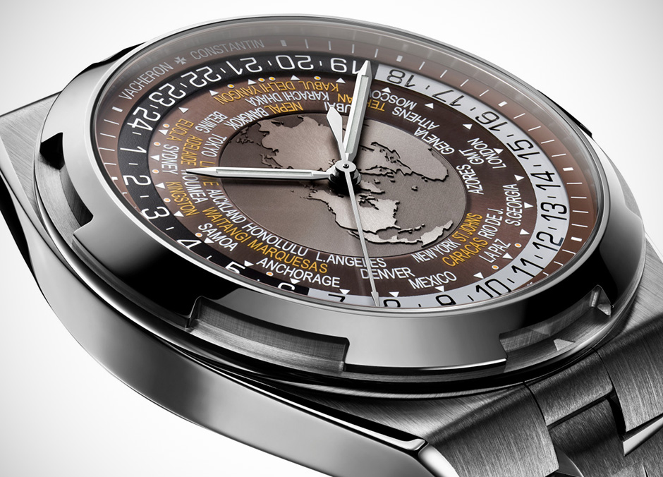 Vacheron Constantin Overseas world time replica