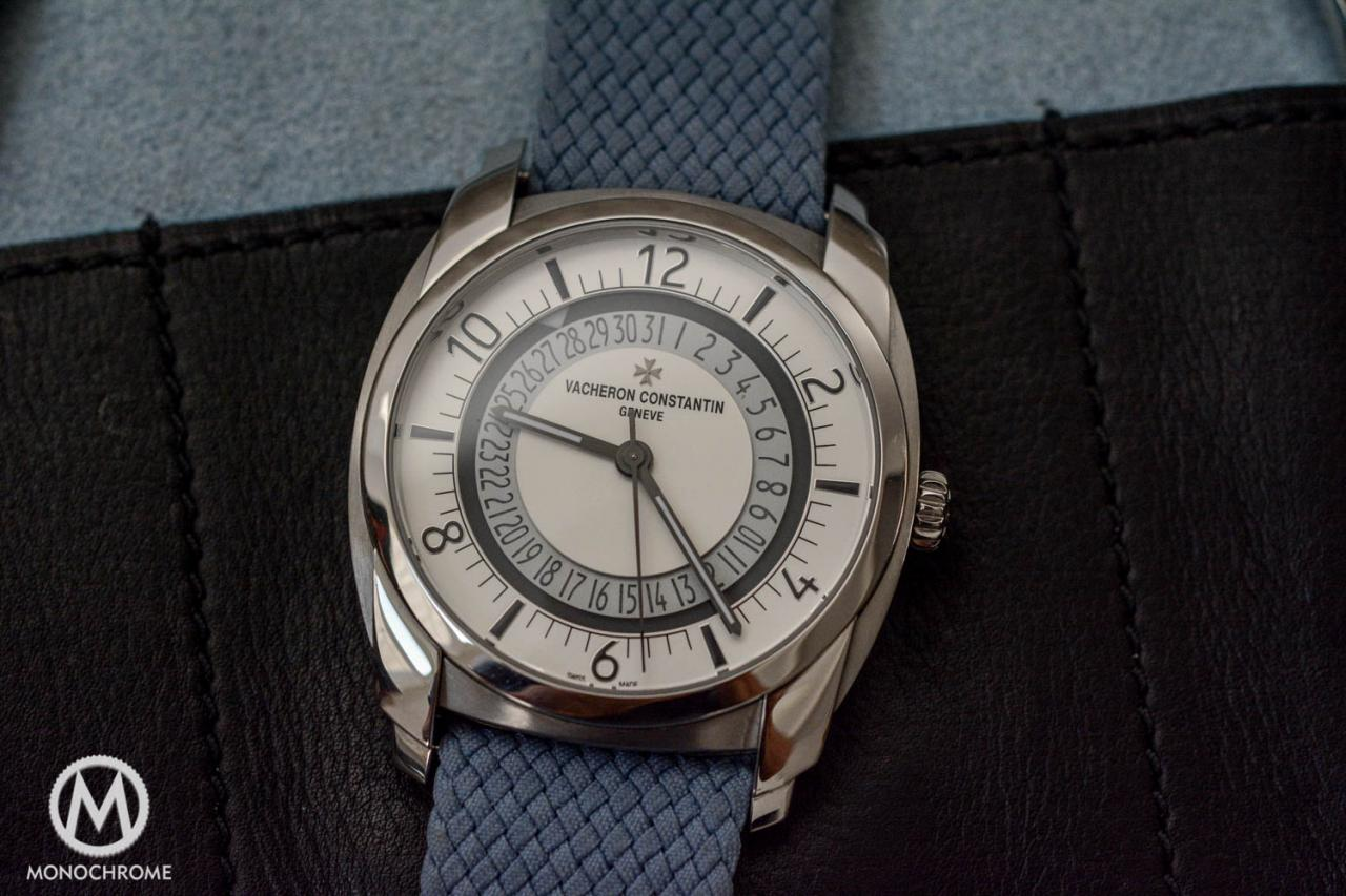steel fake Vacheron Constantin Quai de l'Ile watch