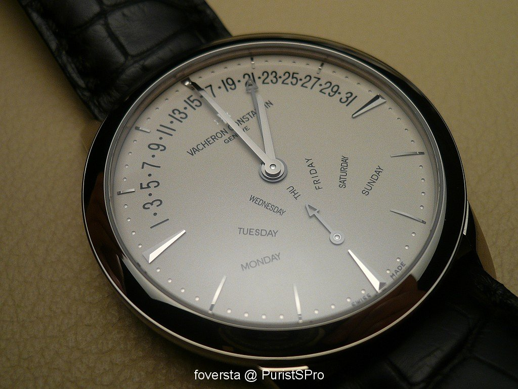 Patrimony Contemporaine Retrograde Day and Date copy watch