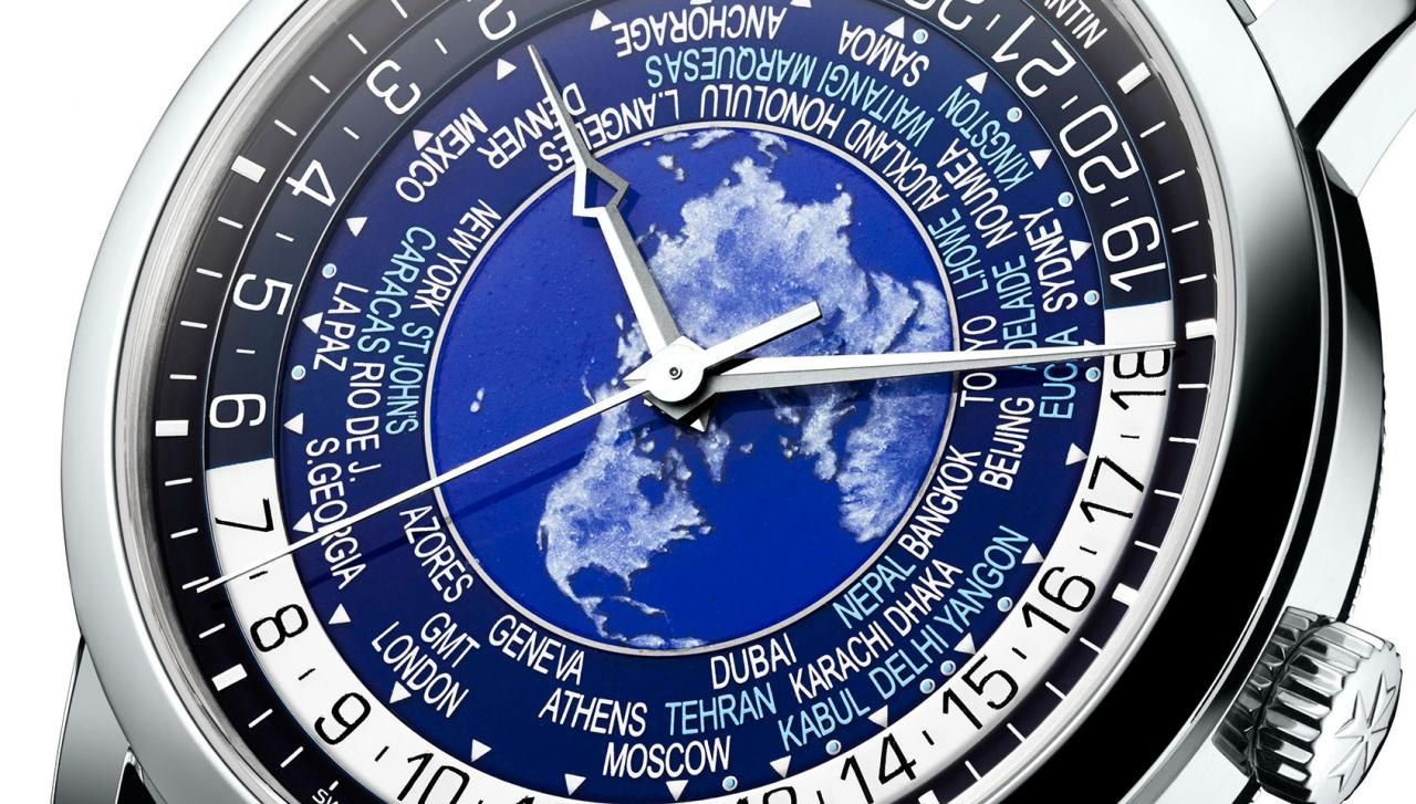 Vacheron Constantin Traditionnelle World Time replica