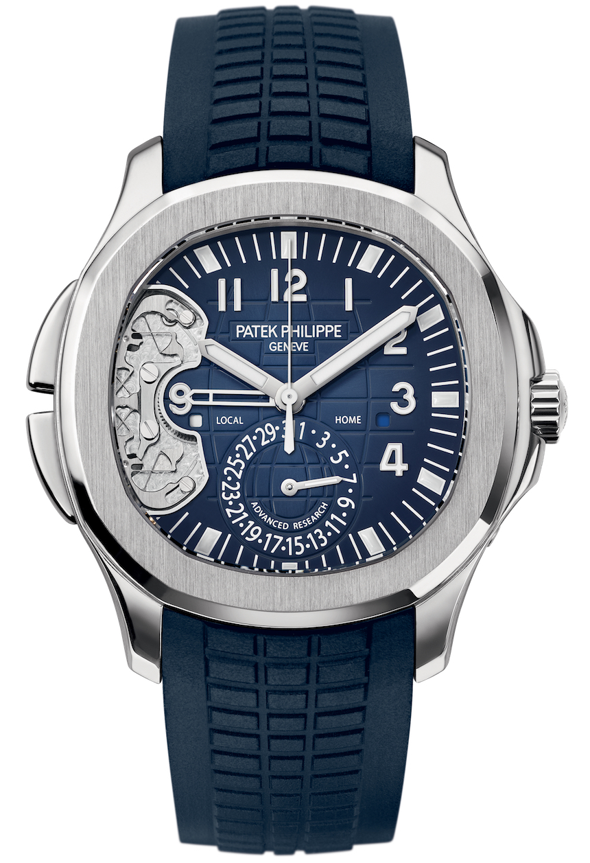 Patek Philippe Advanced Research Aquanaut Travel Time 5650G Watch Watch Releases