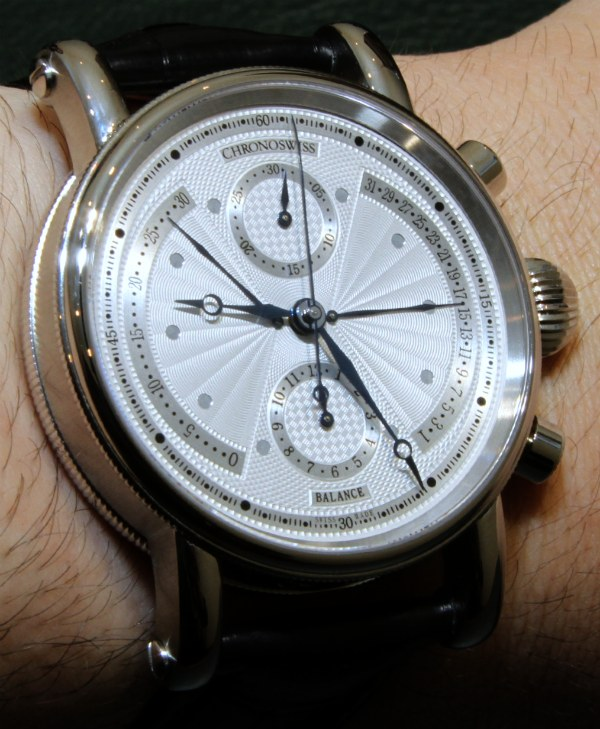Chronoswiss Balance Chronograph Watch Hands-On Hands-On