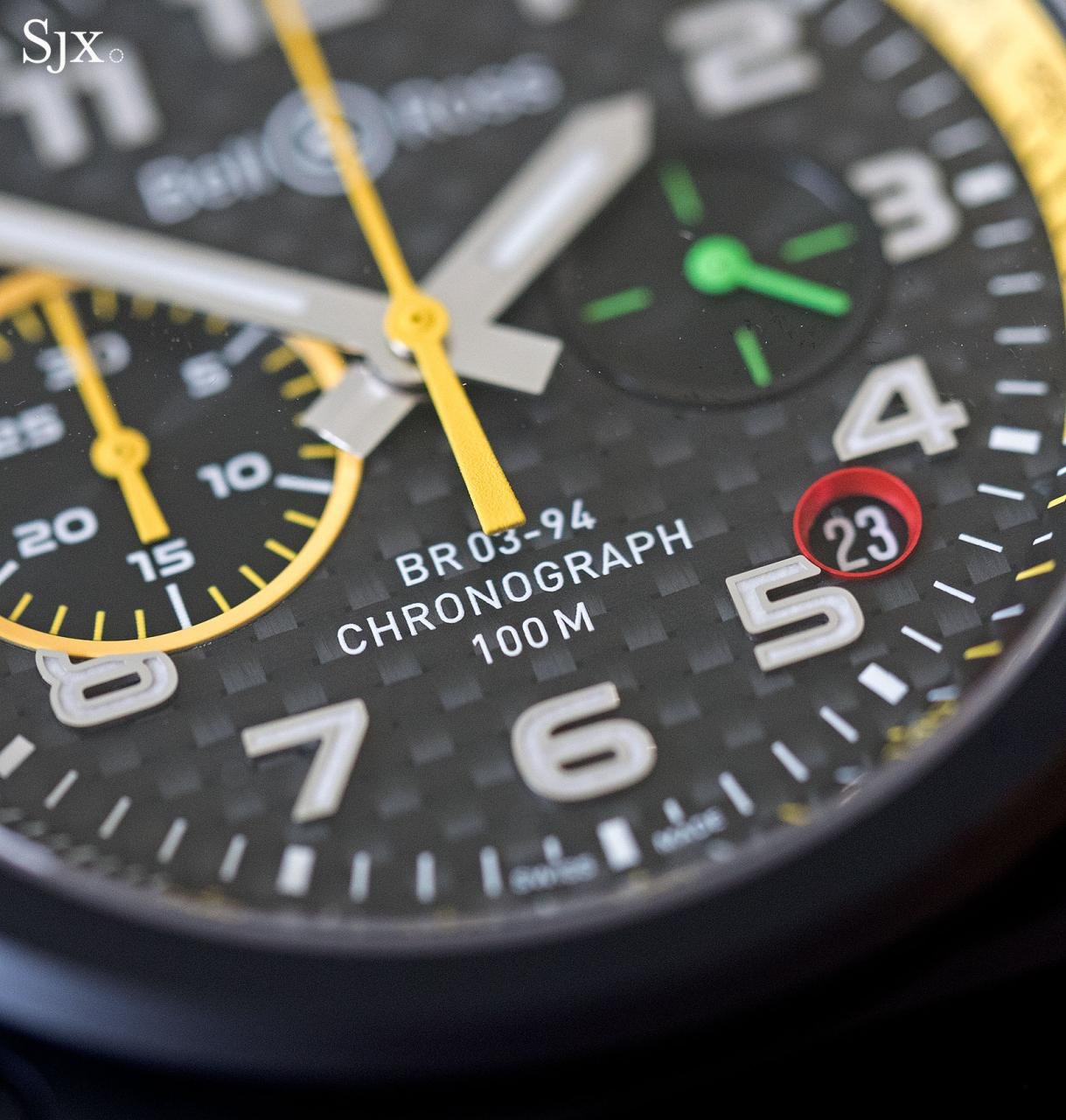 Bell Ross BR 03-94 RS17 chronograph 4
