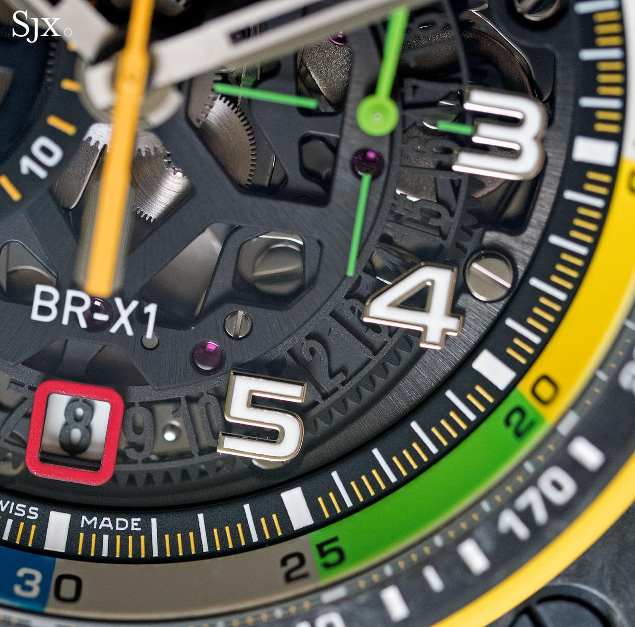 Bell Ross BR X1 RS17 chronograph 10