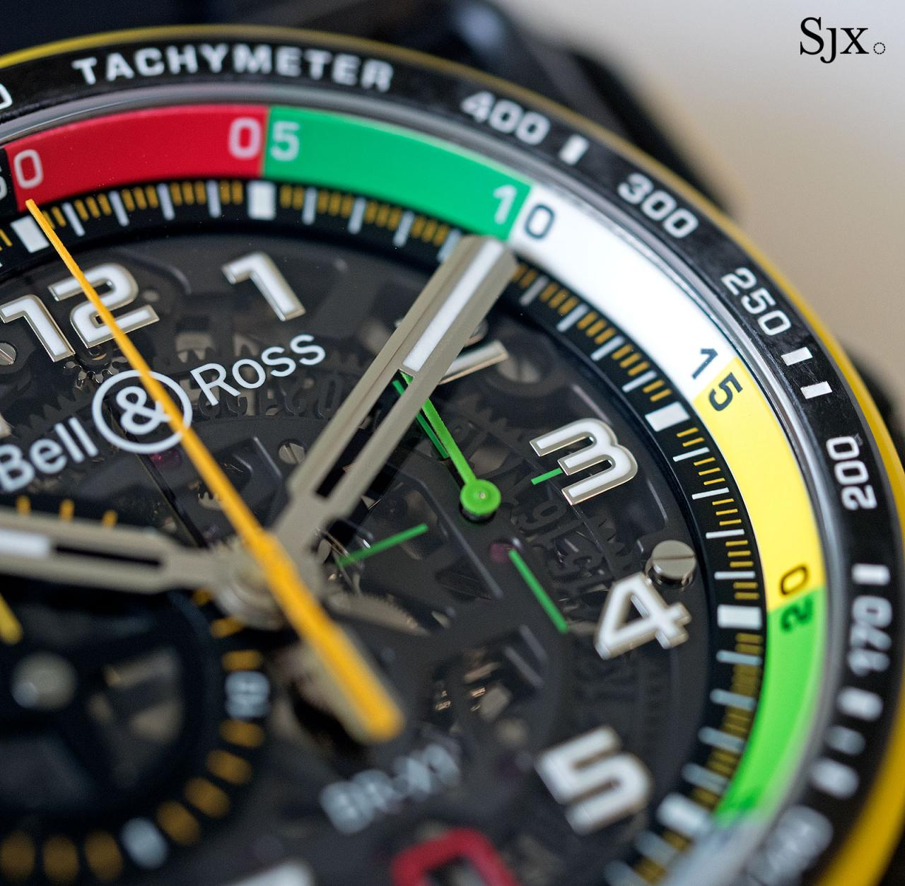 Bell Ross BR X1 RS17 chronograph 11