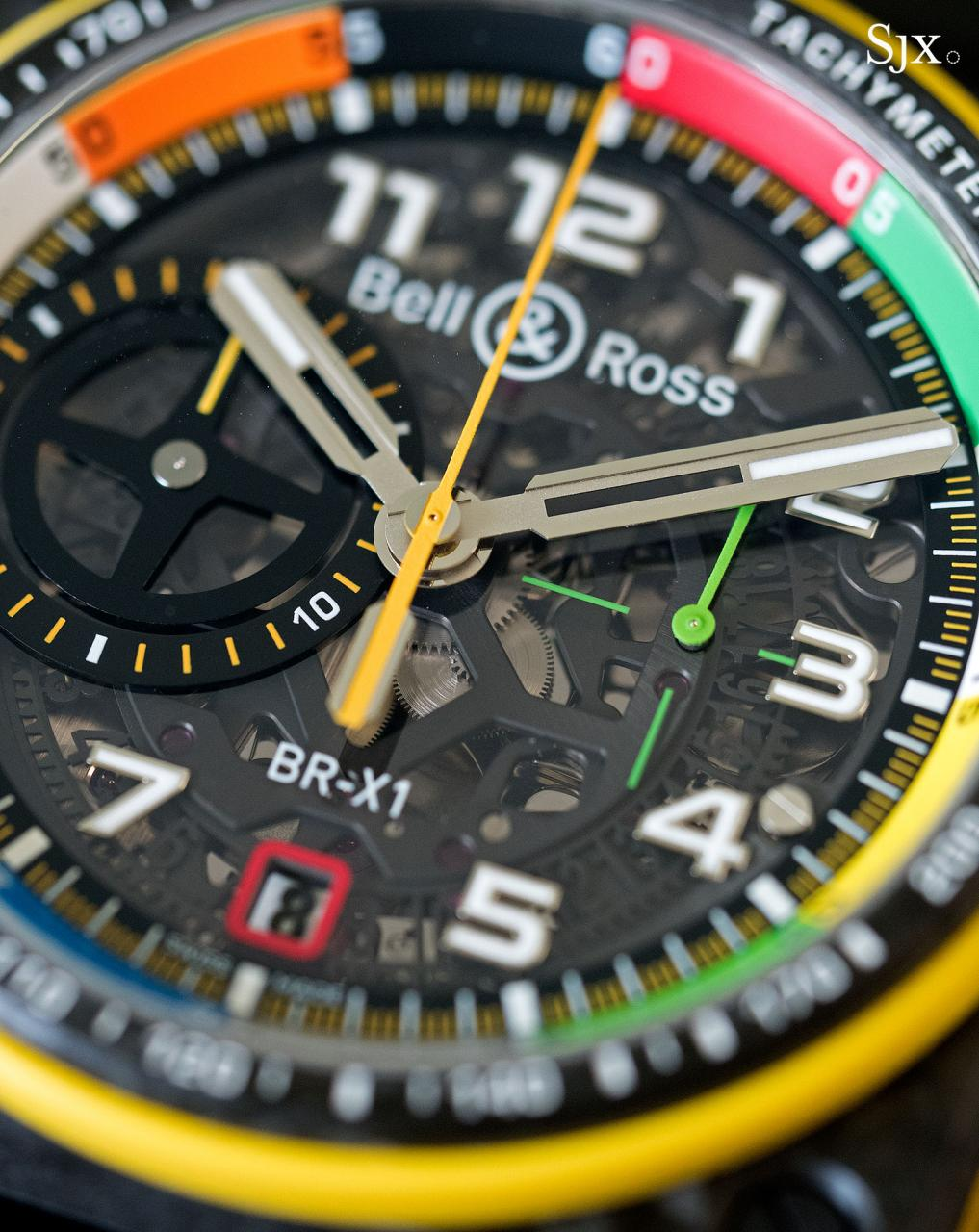Bell Ross BR X1 RS17 chronograph 12