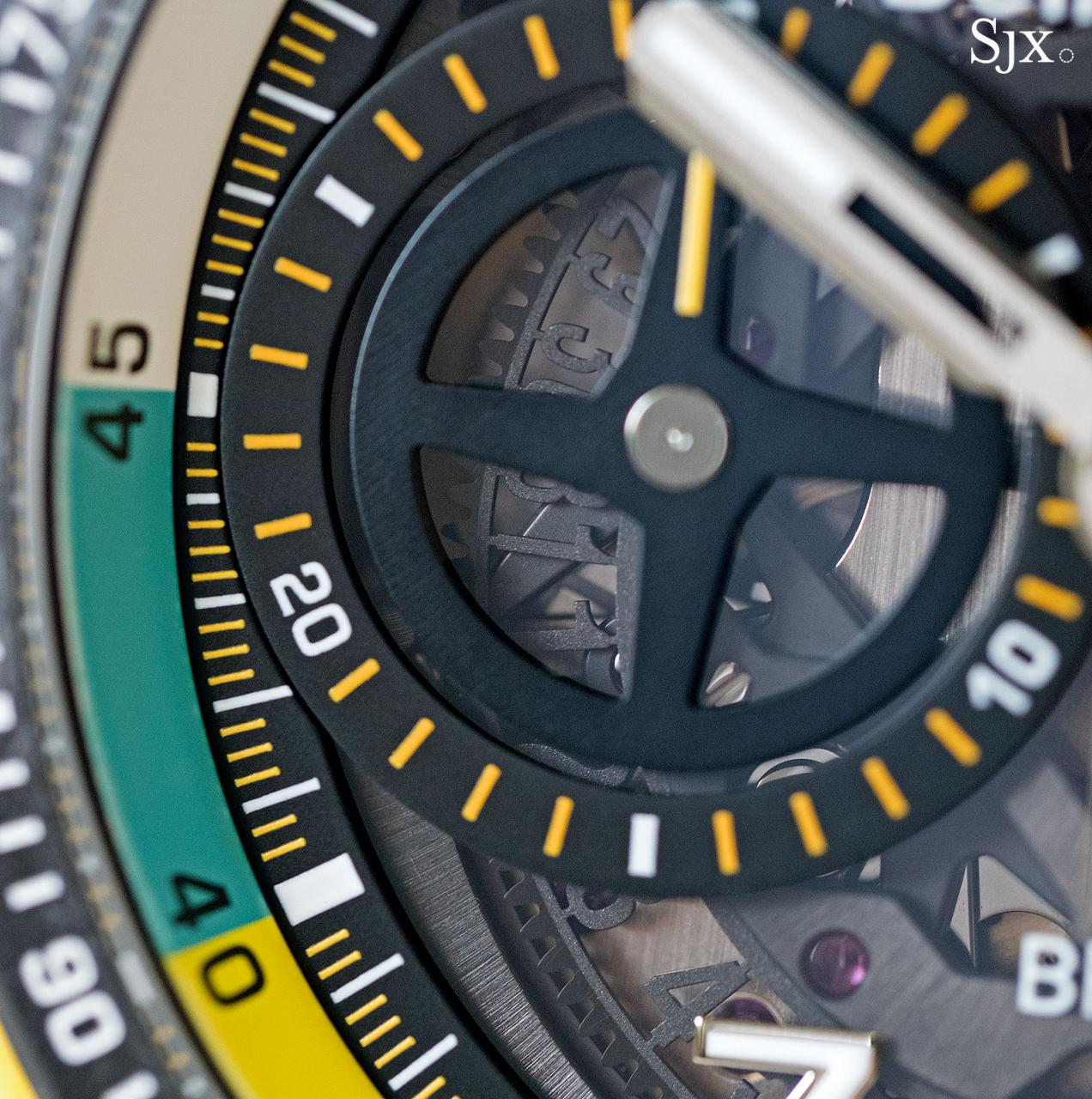 Bell Ross BR X1 RS17 chronograph 7
