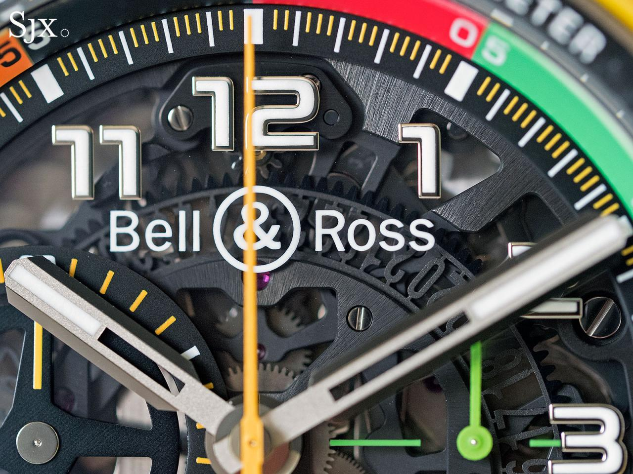 Bell Ross BR X1 RS17 chronograph 8