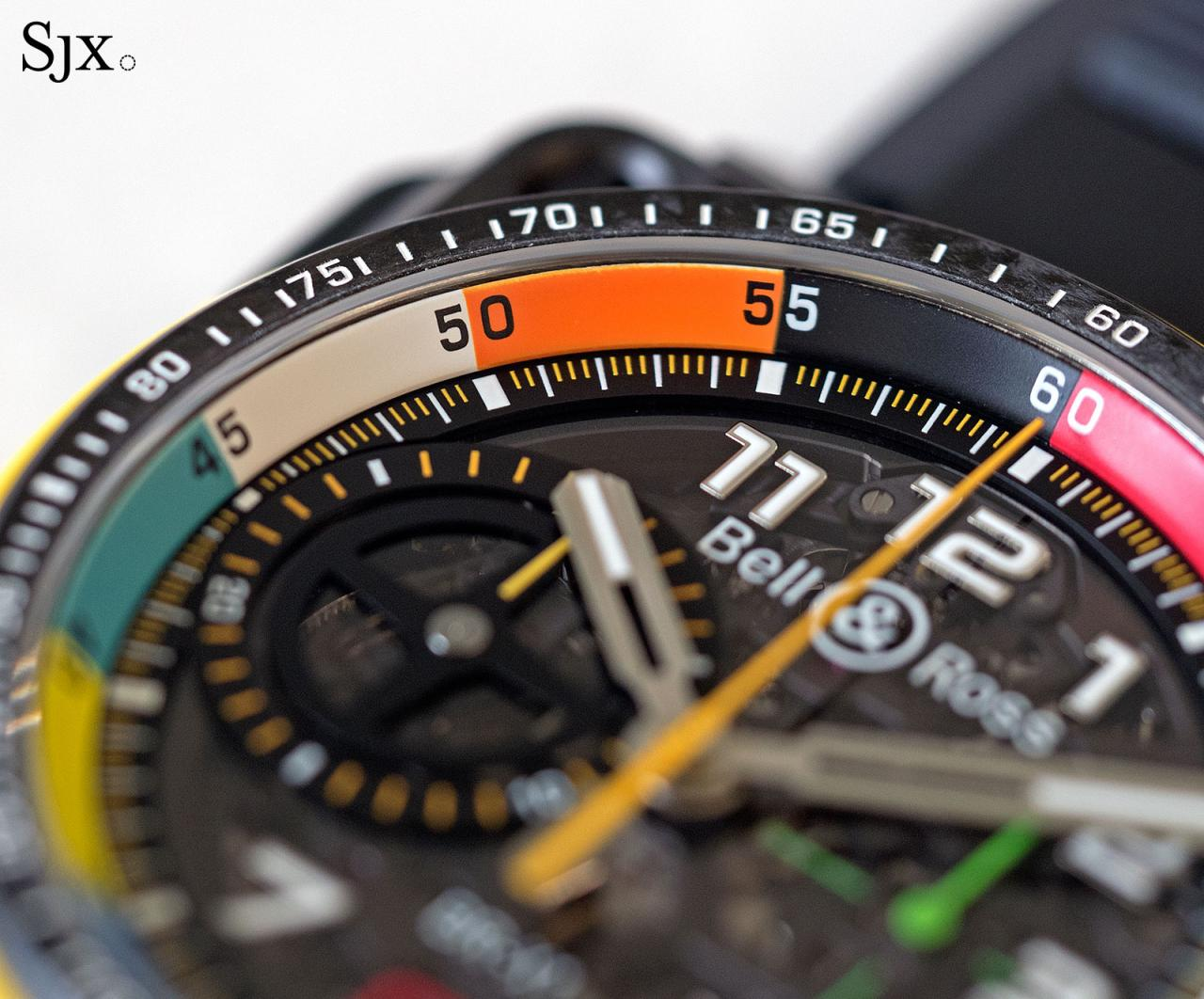 Bell Ross BR X1 RS17 chronograph 9