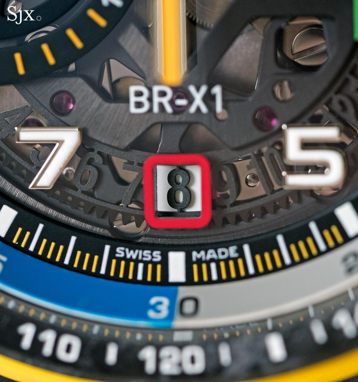 Bell Ross BR X1 RS17 chronograph 6