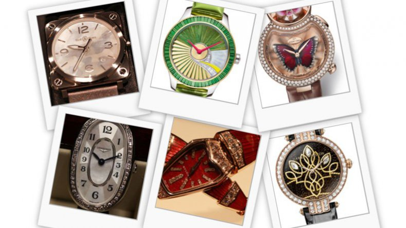 Baselworld 2015 A Number of Precious and Distinguished Ladies' Fake Timepiece