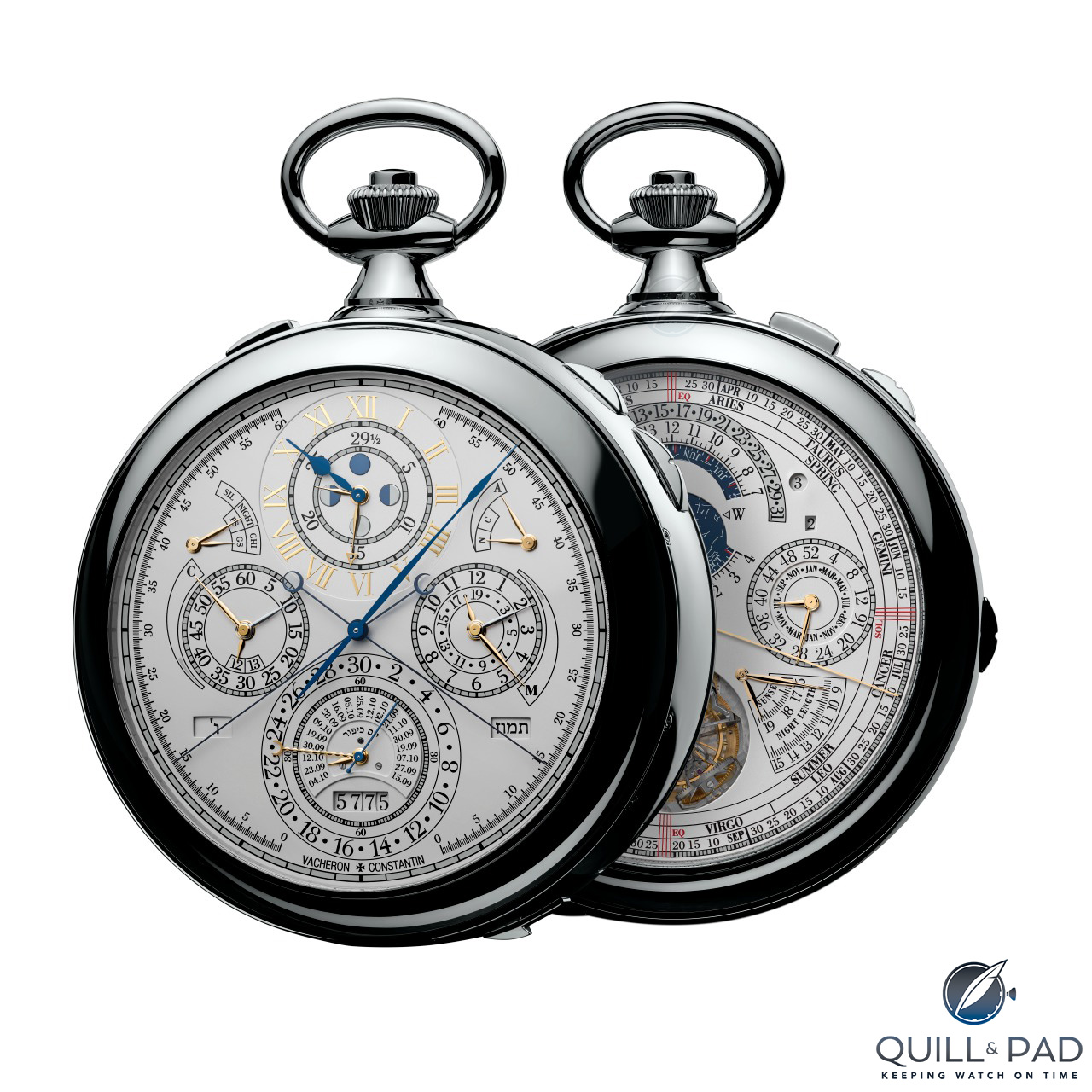 Complicated Vacheron Constantin Pocket Watch replica