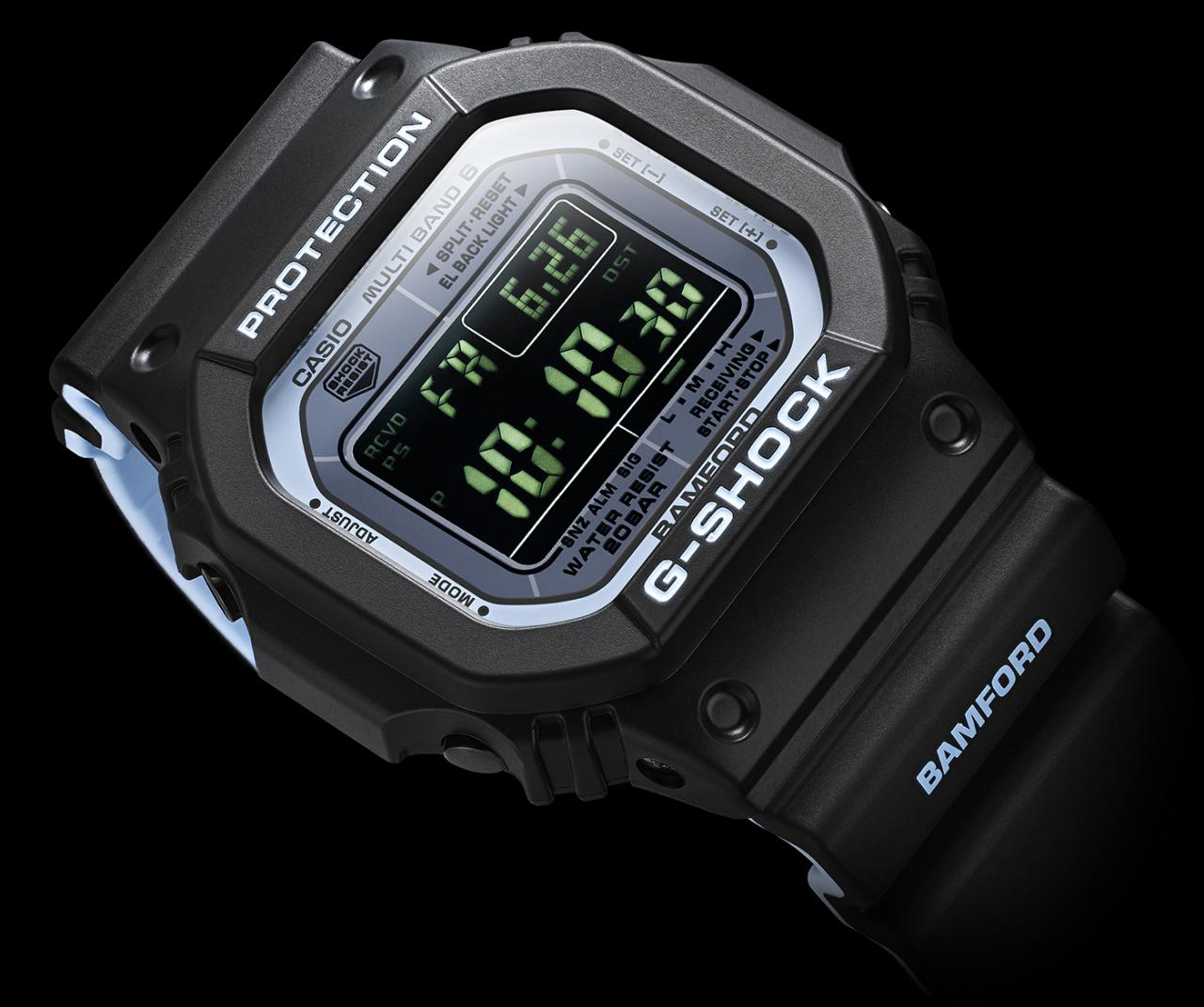 Bamford Teams Up With Casio For Limited Edition G-Shock 5610 Watch Releases