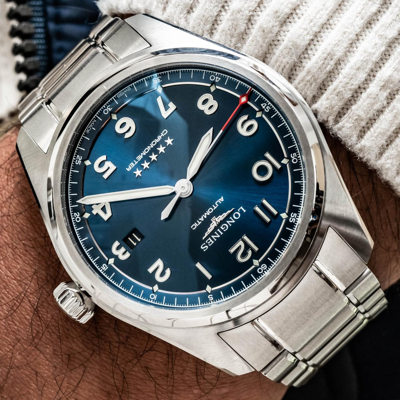 Hands-On With The New Longines Spirit 42mm Pilot's fake Watch Hands-On